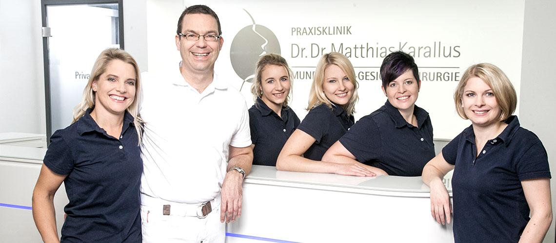 Unser Team - Facharztpraxis für Mund-Kiefer Gesichschirurgie